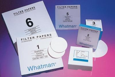 Whatman 1001-055 Quantitative Filter Paper Circles, 11 Micron, 10.5 s/100mL/sq inch Flow Rate, Grade 1, 55mm Diameter (Pack of 100) by Whatman (Image #1)