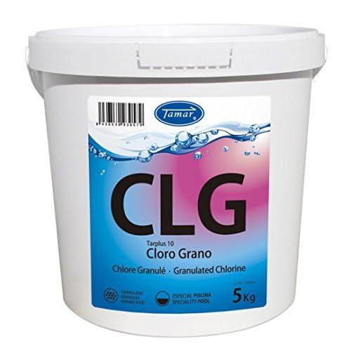 Especial para tratamientos de mantenimiento y desinfección del agua de la piscina Ajustar el ph del agua de la piscina, situándolo entre 7.2 y 7.6 Envase de 5 kilos en grano