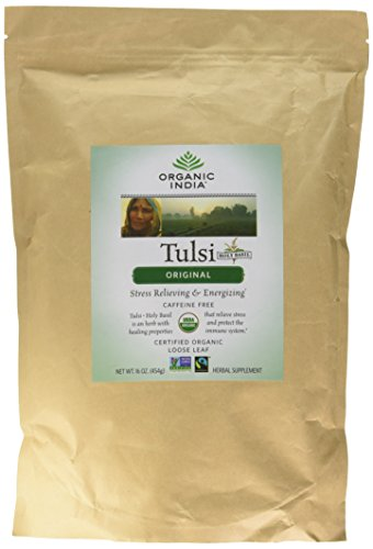 Original Tulsi Tea - Organic India Tulsi Mix, 1 Pound