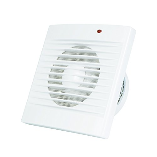 Ventilation Exhaust Fan, HG POWER Strong Exhaust Extractor Fan Wall Mount & Ceiling Exhaust Fan Built-in Household Ventilation Fans Without Plug