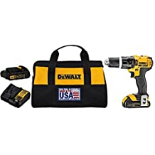 DEWALT DCD785C2 20-Volt Max Li-Ion Compact 1.5 Ah Hammerdrill/Driver Kit