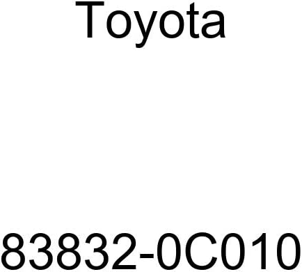 TOYOTA 83832-0C010 Meter Lens