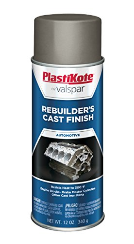 (PlastiKote 285 Gray Rebuilders Cast Finish, 12 oz.)
