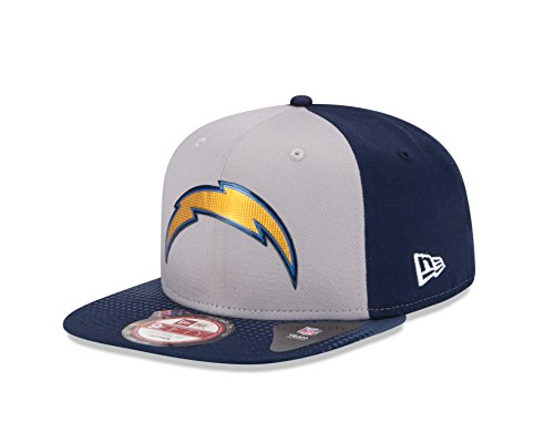 NFL Draft 2015 San Diego Chargers 9Fifty Cap, One Size Fits All, Gray - Nfl Draft Cap