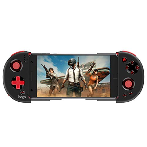 Bluetooth Game Controller Gamepad for iOS iPhone / iPod / iPad Without Rooting Wireless Controller Gamepad Bluetooth Joystick for Android Mobile Tablet PC (Game Iphone Controller Case)