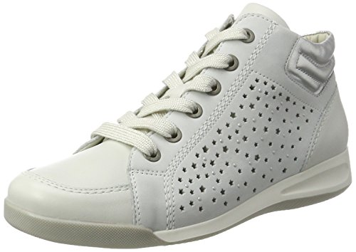 ara Damen Rom-Stf 12-34409 Hohe Sneaker, Weiß (Weiss,Offwhite/Silber), 40 EU (7 UK)