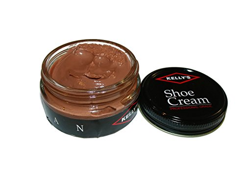Made in USA Fiebing's Co., Inc. Kelly's Shoe Cream Leather Polish many colors available. (TAN)