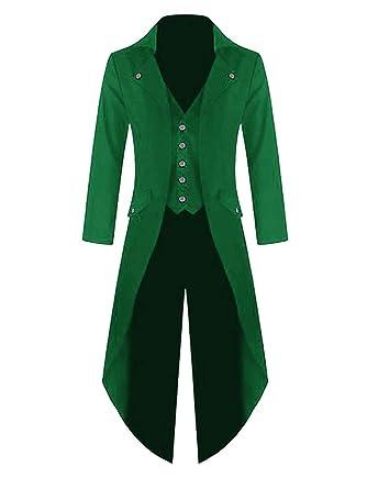 Lang Gothic Ybenlover Halloween Kostüm Jacke Uniform Herren 8w0kXnPO