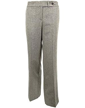 Calvin Klein Women's Classic Fit Wool Pants