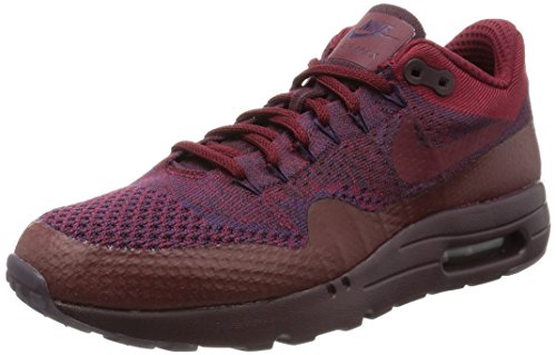 Nike Mens Air Max 1 Ultra Flyknit, GRAND PURPLE/TEAM RED-DEEP BURGUNDY, 11 M US (1 Nike Ultra Mens Max Air)