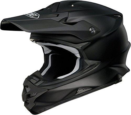 Shoei Solid VFX-W Off-Road/Dirt Bike Motorcycle Helmet - Matte Black / X-Large