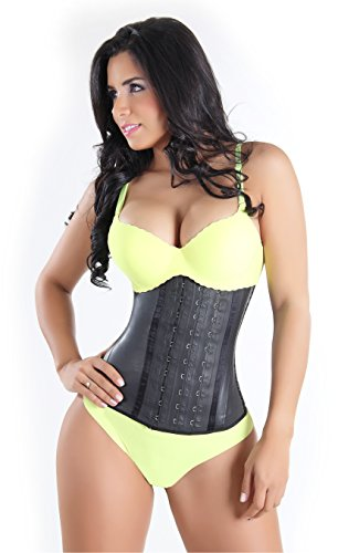 THE ONLY ORIGINAL Fajastec Women's Beauty Classic Latex Waist Cincher 3 Hook Size 40