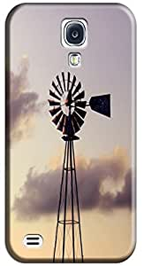 Fantastic Faye Cell Phone Cases For Samsung Galaxy S4 i9500 No.16 The Beautiful Design With Various Fresh Flowers Carton Bicycle Scenery