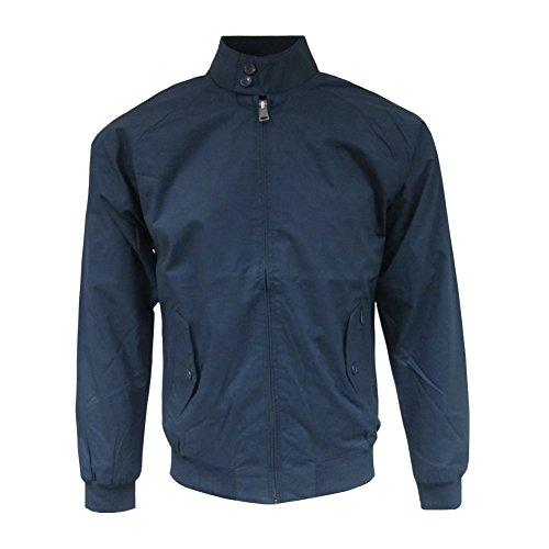 Ben Sherman Men's New Core Harrington Jacket Large (Manufacturer Size: L) Blue (Navy)