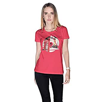 Creo London Underground T-Shirt For Women - Xl, Pink