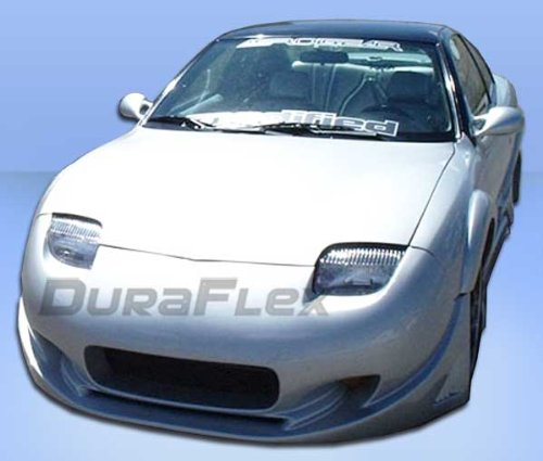 Duraflex Replacement for 1995-2002 Pontiac Sunfire Millenium Wide Body Front Bumper Cover - 1 Piece