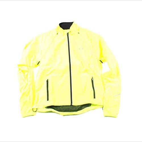 Womens Convertible Wind Jacket (Bellwether Women's Convertible Jacket, Hi-Vis,)