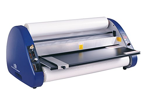 School Laminator (USI Thermal (Hot) Roll Laminator, ARL 2700, Laminates Films up to 27 Inches Wide and 5 Mil Thick, 1 Inch Core; UL Listed, Industry Best 2-Year Warranty)