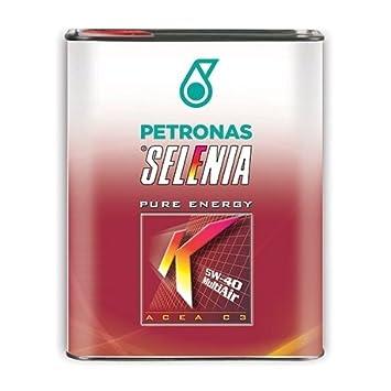 Selenia K Pure Energy SAE 5W40 ACEA C3 - Aceite de motor para motores MultiAir, envase de 1 l: Amazon.es: Coche y moto