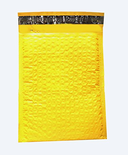 10 Yellow 6x9 Poly Bubble Mailers