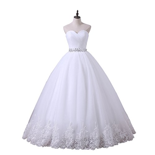 26w white dress - 4