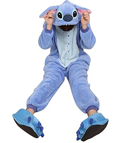 [Duraplast Adult Men's Sleepwear Winter Onesies Pajamas Costume Sleep Bag (Blue,XL)] (Animal Halloween Costumes Men)