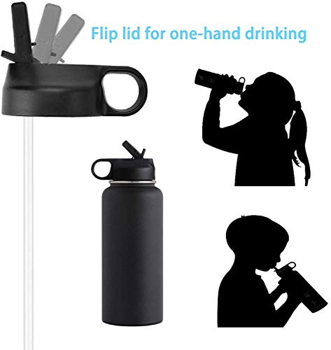 The Mass Wide Mouth Straw Lid Compatibility Most Sports Water Bottle