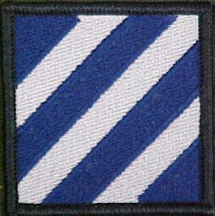 3rd Infantry Division Dress Patch (Infantry 3rd Division Patch)