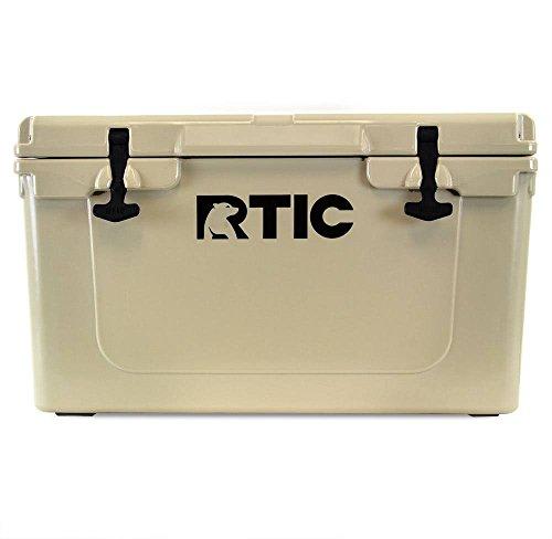RTIC Cooler, 45 qt (Tan)