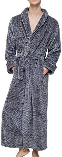 バスローブ ナイトガウン ロング丈 足元あたたか ルームウェア 着る毛布 部屋着 腰ベルト付 カップル