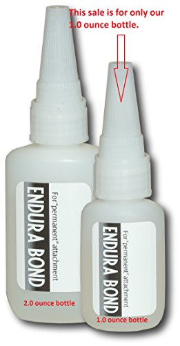 Endura Bond Adhesive Stylist Series 1.0 oz Bottle Glue for Lace Wig Adhesive.Hairpiece.