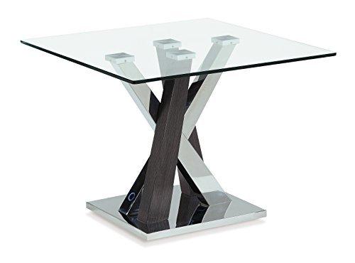 Global Furniture End Table, Wenge (Wenge Table Dining Set)