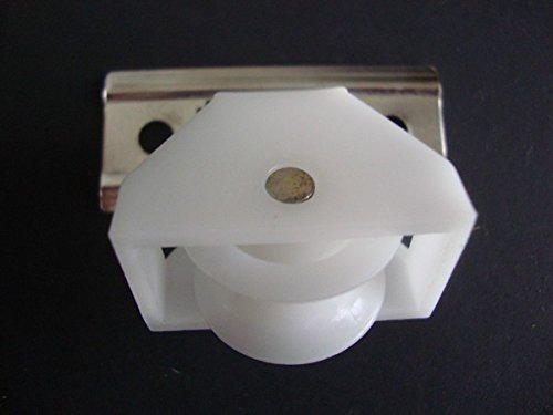 All In One Roman Shade Hardware Kit In White Cord Lock