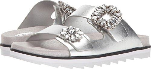 Guess Kvinnor Cambrie Glid Sandal Argento / Nickel Syntetisk