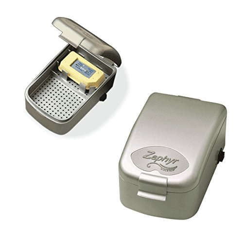 Zephyr by Dry & Store Hearing Instrument Dryer/Dehumidifier | for Care and Maintenance of Hearing Aids | Cochlear Processors | in-Ear Monitors by Zephyr by Dry & Store