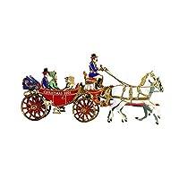 2001 Adorno navideño de la Casa Blanca, paseo en carro de la primera familia por la Asociación Histórica de la Casa Blanca