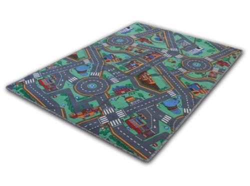 Spielteppich - Meine große Stadt - 5 Größen wählbar - Öko-Tex 100