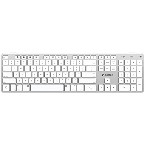 Kanex Multi-Sync Bluetooth Keyboard for iOS Mac, iPad and iPhone (QWERTYX)