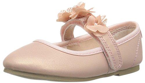 carter's Girls' Cake2 Ballet Flat, Pink, 10 M US Toddler