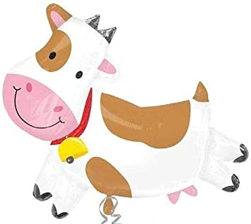 Toy 43 Inch Patch Cow Shaped Foil Balloon CS137