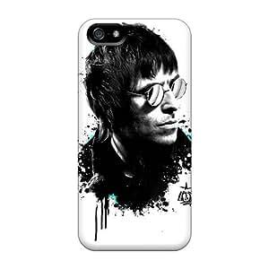 TrevorBahri Apple Iphone 5/5s Excellent Hard Phone Cases Unique Design Stylish Oasis Band Pattern [Ebk1357IJIC]