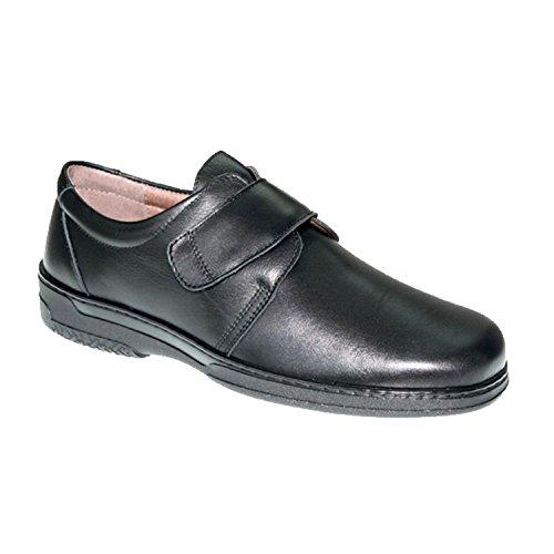Chaussure Spéciale Velcro Pour Les Diabétiques Très Confortable Primocx Noir