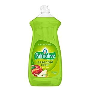 Palmolive Dish Liquid, Essential Clean, Apple Pear, 28 Fluid Ounce