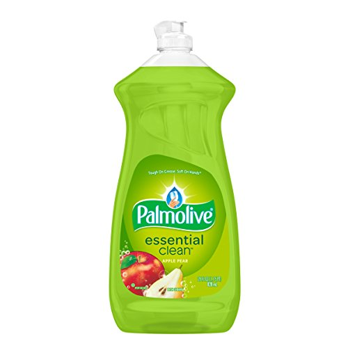 Palmolive Dish Liquid, Essential Clean, Apple Pear, 28 Fluid Ounce ()