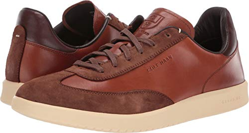 (Cole Haan Men's Grandpro Turf Sneaker Tumbled/British tan Suede, 13 M US)