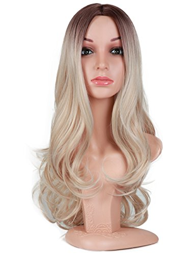 Blond Middle Resistant Synthetic Cosplay product image