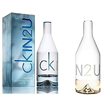 ed17c190c Set of 2 Pcs CK IN2U by Calvin Klein for Men - EDT, 100ml With CK ...