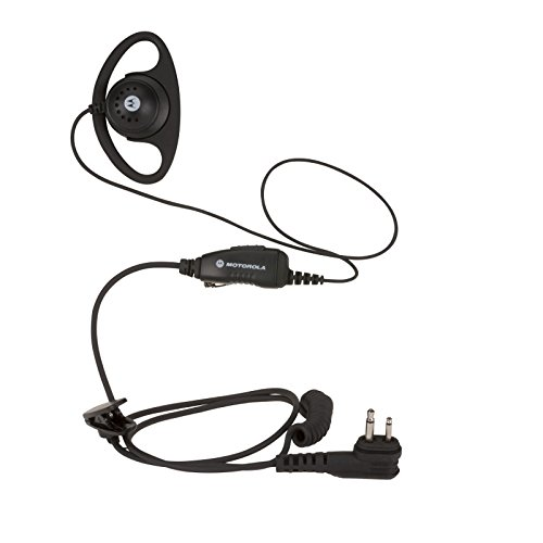 HKLN4599 HKLN4599B Original Motorola D-Style Earpiece with In-Line Microphone and PTT, replaces 56517 56517F