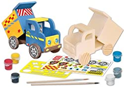 MasterPieces Puzzle Company Works of Ahhh... Dump Truck Wood Paint Kit from MasterPieces PuzzleCompany