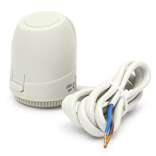 GGGarden 230V NC Electric Thermal Actuator Manifold Underfloor Heating Thermostat System ()